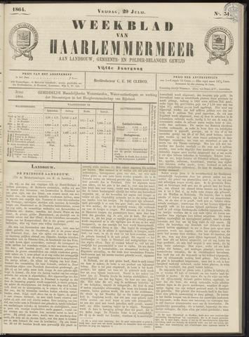 Weekblad van Haarlemmermeer 1864-07-29