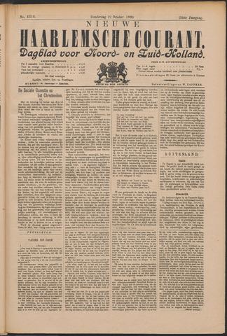 Nieuwe Haarlemsche Courant 1899-10-12