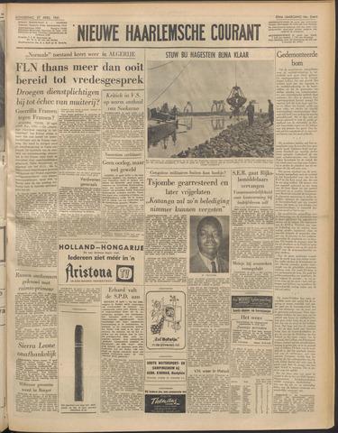 Nieuwe Haarlemsche Courant 1961-04-27