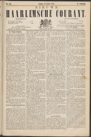 Nieuwe Haarlemsche Courant 1883-04-22