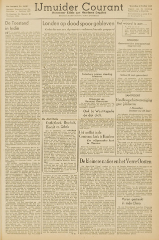 IJmuider Courant 1945-10-03