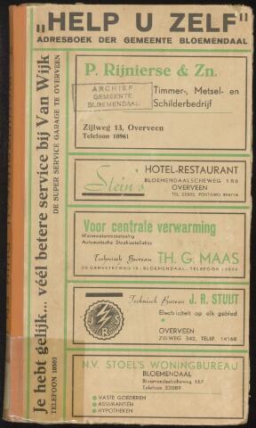 Adresboeken Bloemendaal 1944