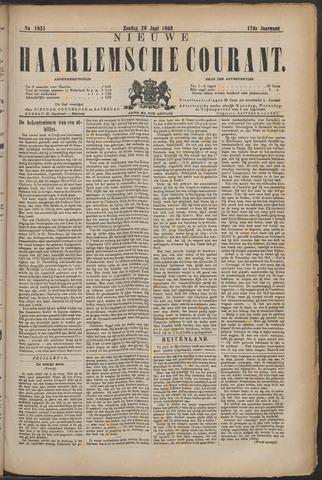 Nieuwe Haarlemsche Courant 1892-06-26