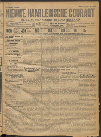 Nieuwe Haarlemsche Courant 1911-07-03