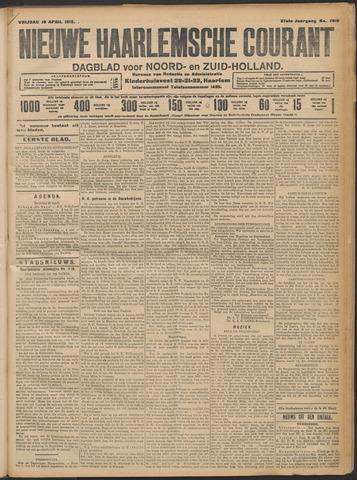 Nieuwe Haarlemsche Courant 1912-04-19