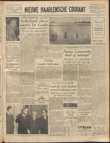 Nieuwe Haarlemsche Courant 1961-02-11
