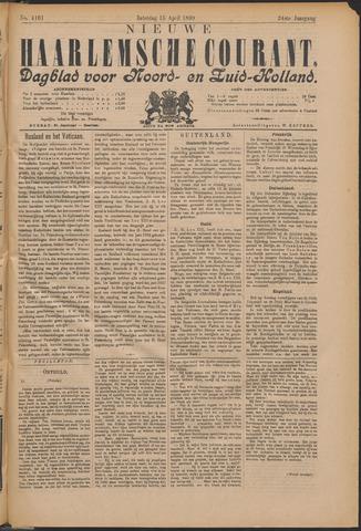 Nieuwe Haarlemsche Courant 1899-04-15