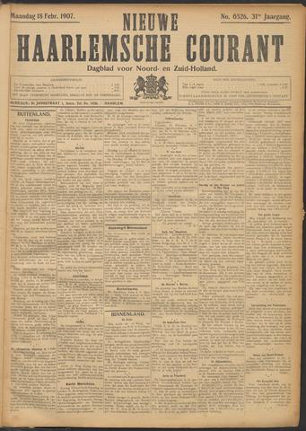 Nieuwe Haarlemsche Courant 1907-02-18