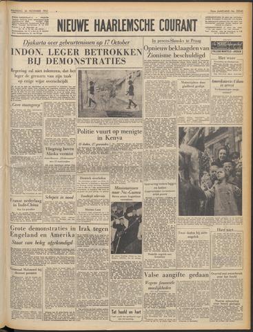 Nieuwe Haarlemsche Courant 1952-11-24