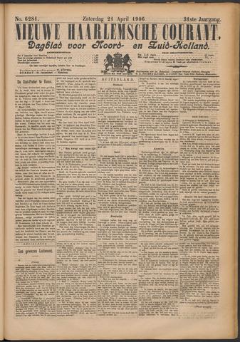 Nieuwe Haarlemsche Courant 1906-04-21
