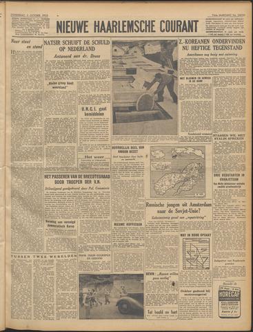 Nieuwe Haarlemsche Courant 1950-10-05