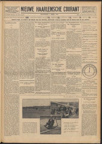 Nieuwe Haarlemsche Courant 1930-04-07