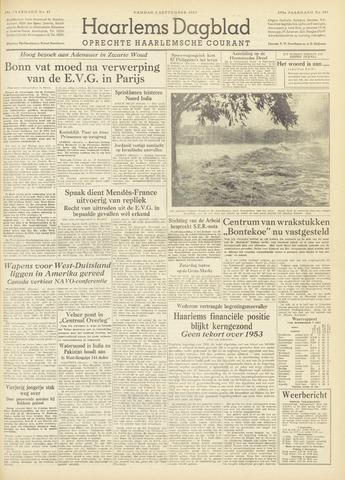 Haarlem's Dagblad 1954-09-03