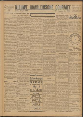 Nieuwe Haarlemsche Courant 1923-04-06