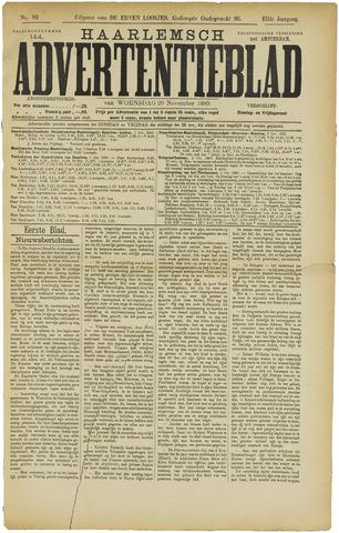 Haarlemsch Advertentieblad 1889-11-20
