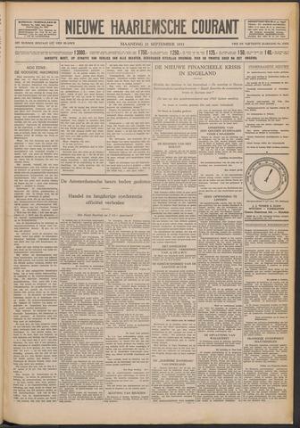Nieuwe Haarlemsche Courant 1931-09-21