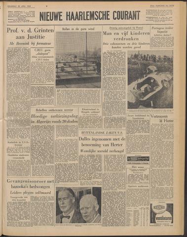 Nieuwe Haarlemsche Courant 1959-04-20