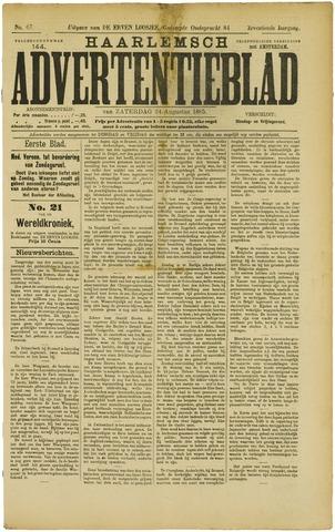 Haarlemsch Advertentieblad 1895-08-24
