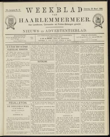 Weekblad van Haarlemmermeer 1886-03-20