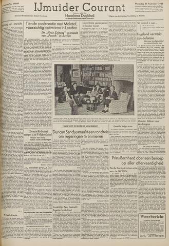 IJmuider Courant 1948-09-15