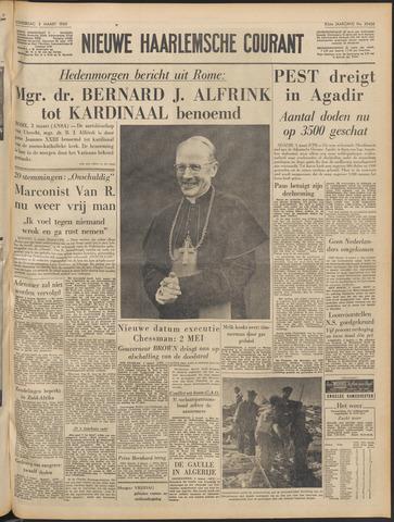 Nieuwe Haarlemsche Courant 1960-03-03