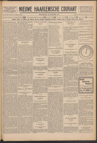 Nieuwe Haarlemsche Courant 1931-10-28