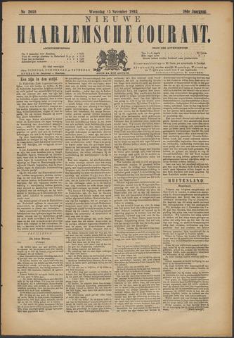 Nieuwe Haarlemsche Courant 1893-11-15