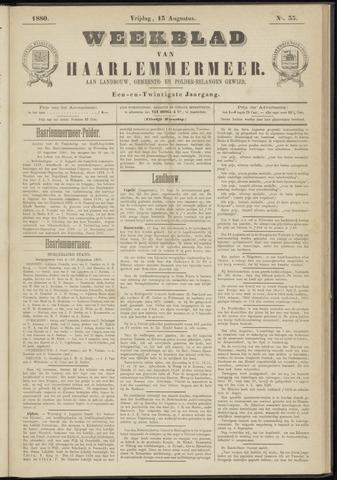 Weekblad van Haarlemmermeer 1880-08-13
