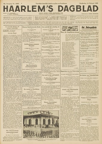 Haarlem's Dagblad 1935-02-14
