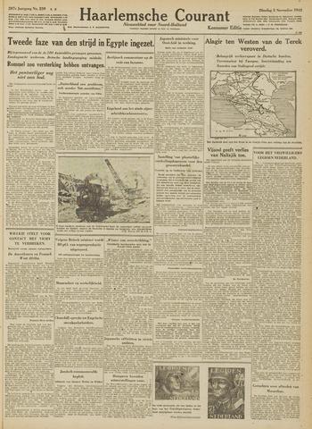 Haarlemsche Courant 1942-11-03