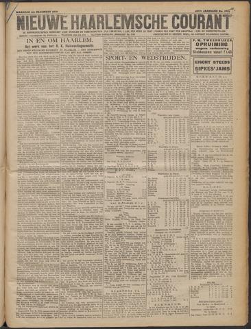 Nieuwe Haarlemsche Courant 1919-12-22