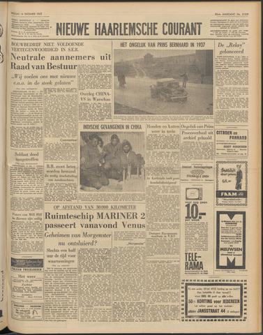 Nieuwe Haarlemsche Courant 1962-12-14