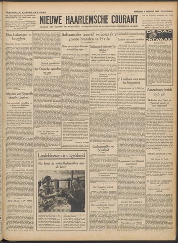 Nieuwe Haarlemsche Courant 1940-08-08