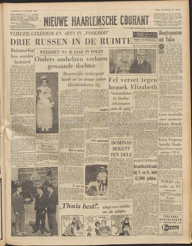Nieuwe Haarlemsche Courant 1964-10-12