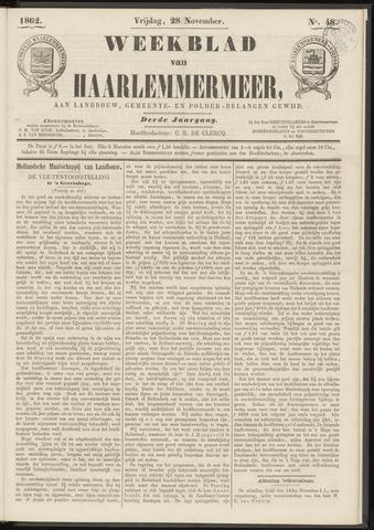 Weekblad van Haarlemmermeer 1862-11-28