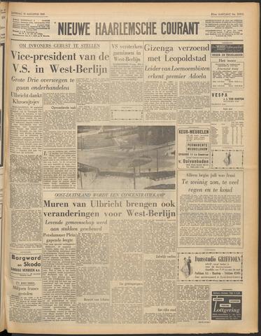 Nieuwe Haarlemsche Courant 1961-08-19