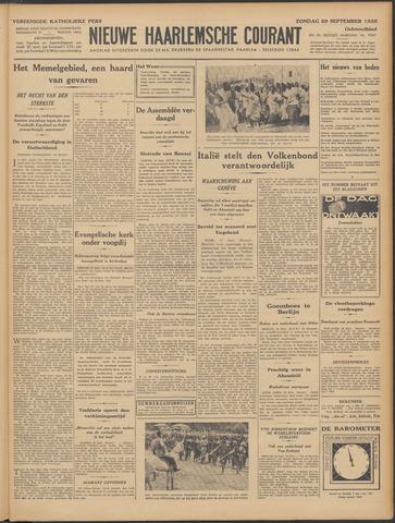 Nieuwe Haarlemsche Courant 1935-09-29