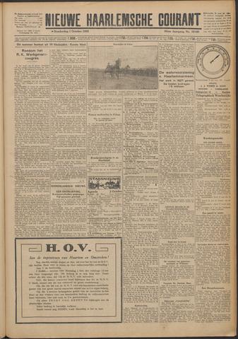 Nieuwe Haarlemsche Courant 1925-10-01