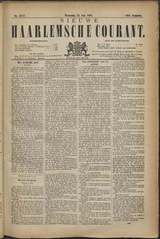 Nieuwe Haarlemsche Courant 1891-07-22