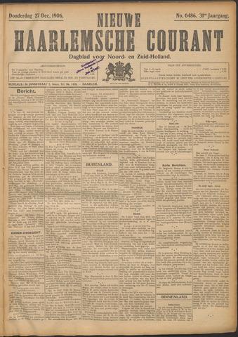 Nieuwe Haarlemsche Courant 1906-12-27
