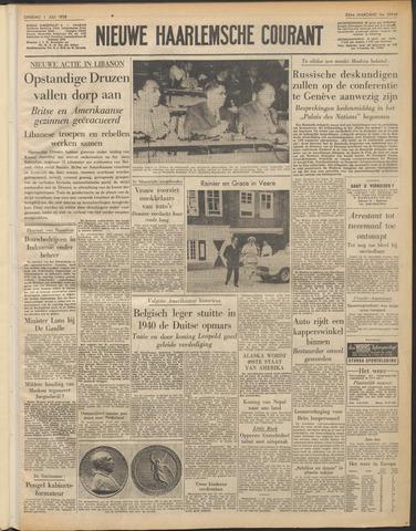 Nieuwe Haarlemsche Courant 1958-07-01
