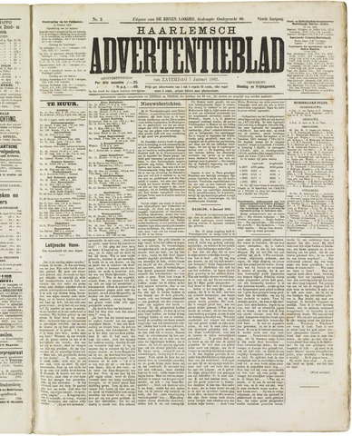 Haarlemsch Advertentieblad 1882-01-07
