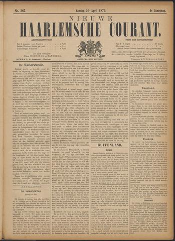Nieuwe Haarlemsche Courant 1879-04-20
