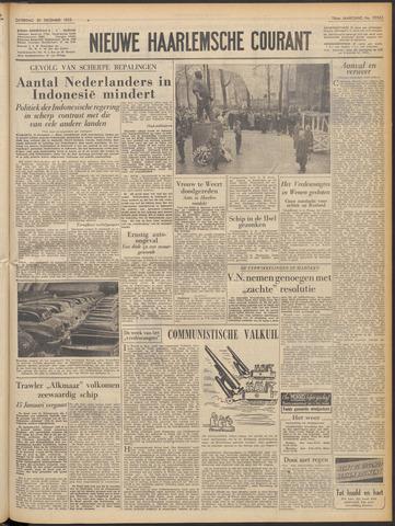 Nieuwe Haarlemsche Courant 1952-12-20