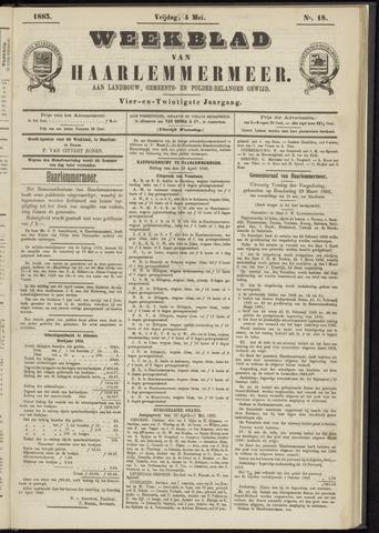 Weekblad van Haarlemmermeer 1883-05-04