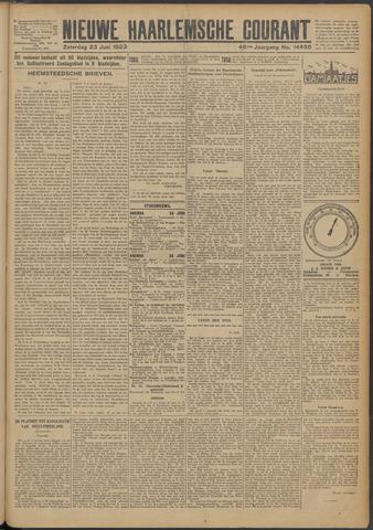 Nieuwe Haarlemsche Courant 1923-06-23