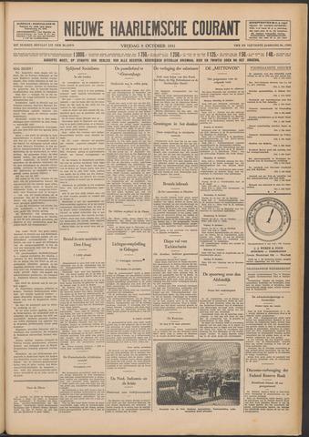 Nieuwe Haarlemsche Courant 1931-10-09