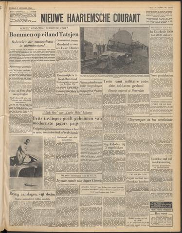 Nieuwe Haarlemsche Courant 1954-11-02