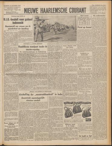 Nieuwe Haarlemsche Courant 1948-12-18