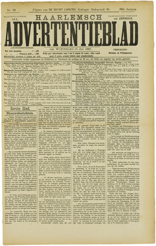 Haarlemsch Advertentieblad 1889-07-31